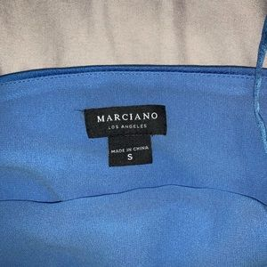 Marciano Tops - 2 Marciano shirts. Never worn. Blue off shoulder!